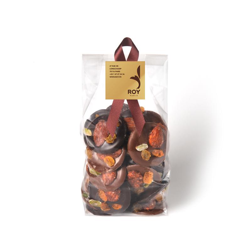 Mendiants au chocolat – sachet de 200 g