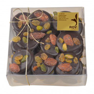Boîte Mendiants au chocolat 450g