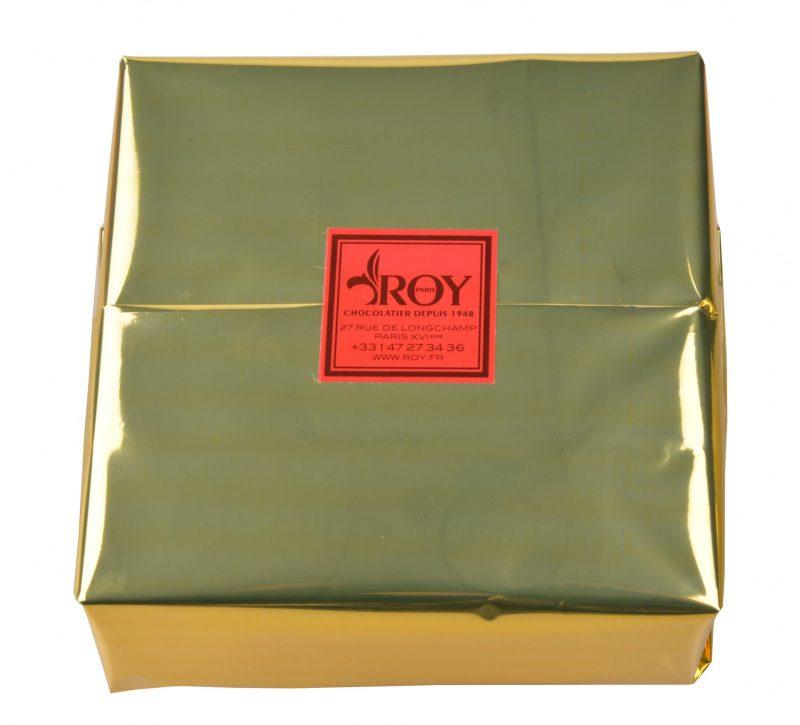 Boîte Mendiants au chocolat 450g emballée