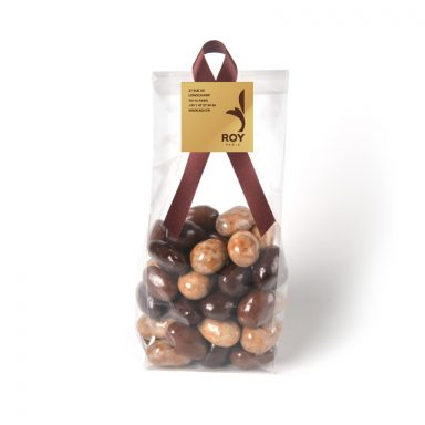 Amandes 3 chocolats – sachet de 200 g