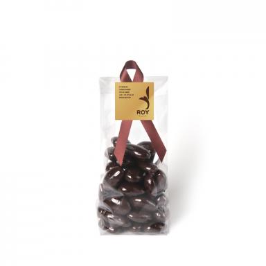 Amandes chocolat noir – sachet de 200 g
