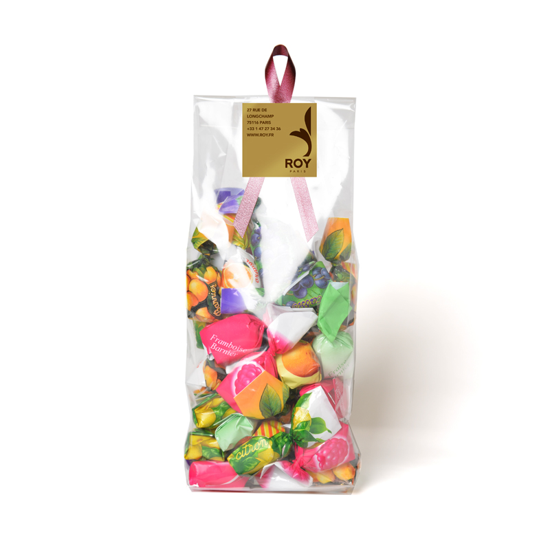 Bonbons fourrés aux fruits – sachet de 250 g