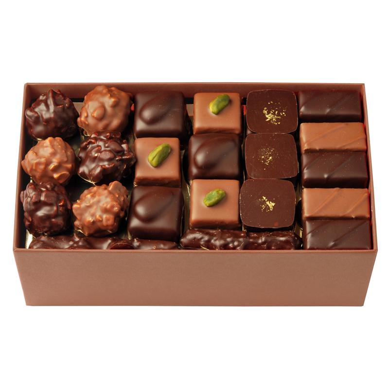 Coffret de chocolats – 550 g