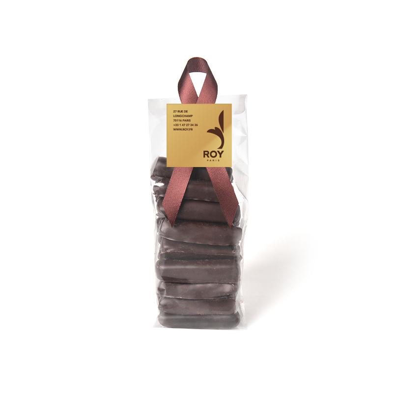 Gingembre confit – sachet de 200 g