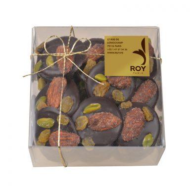 mendiants au chocolat boîte de 265 g
