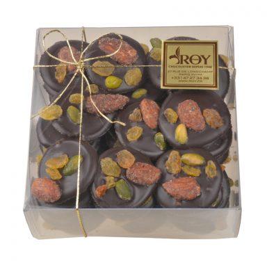 Mendiants au chocolat – boîte de 370 g