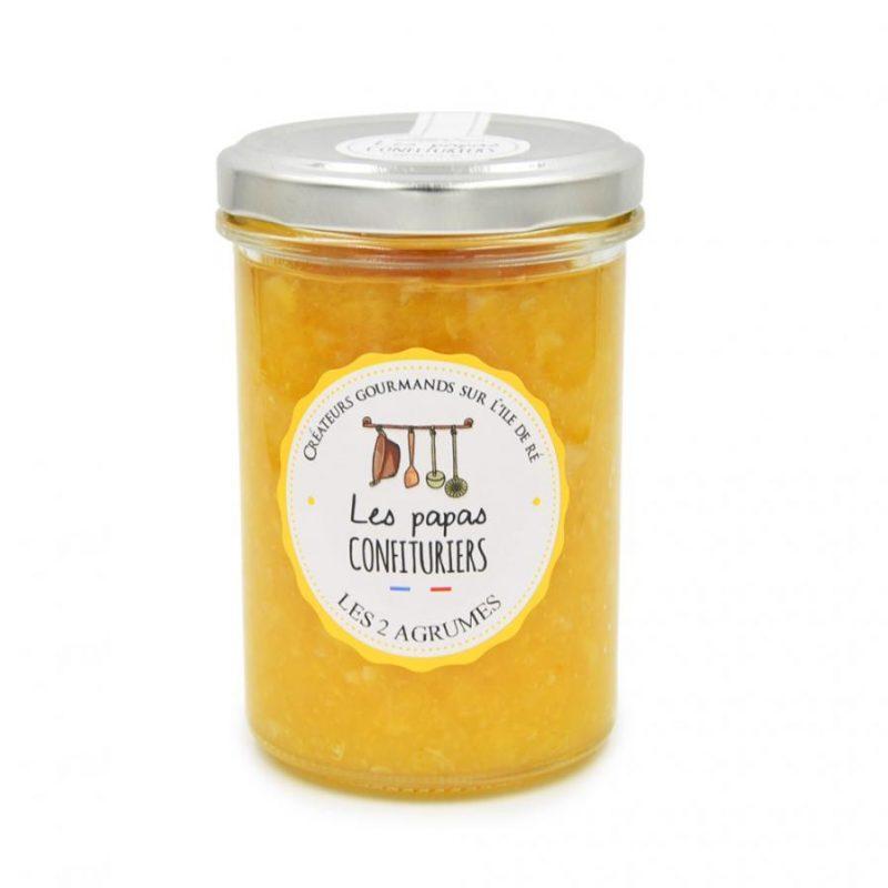 Papas confituriers – orange douce et citron - les2agrumes