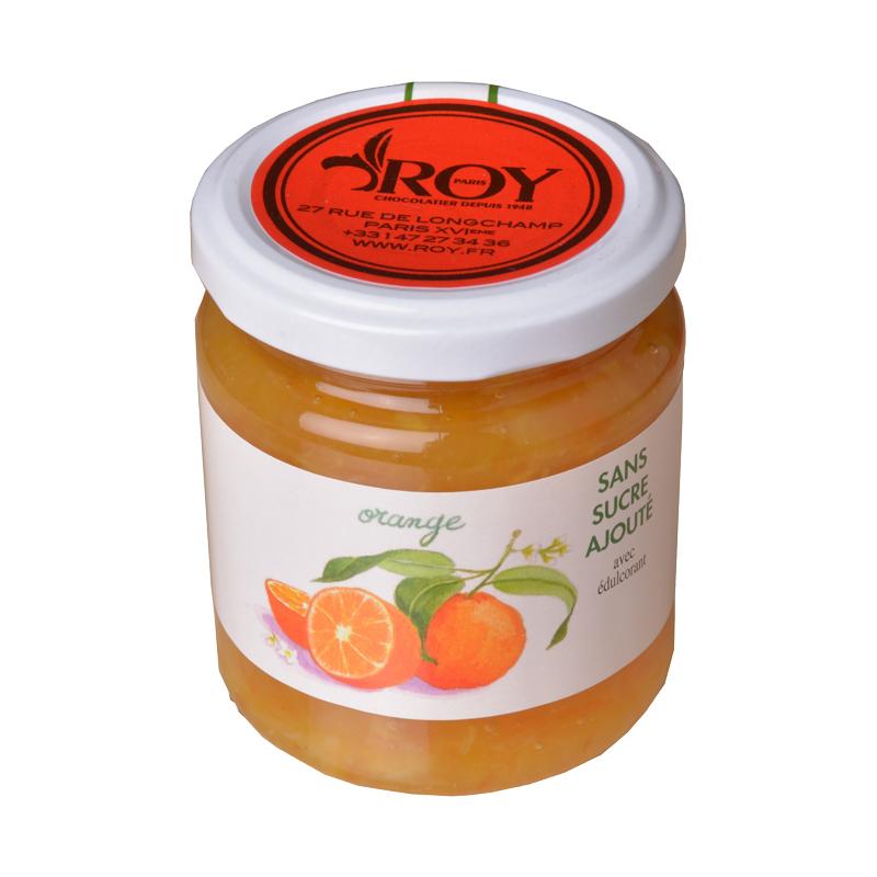 Confiture d'oranges sans sucre ajouté
