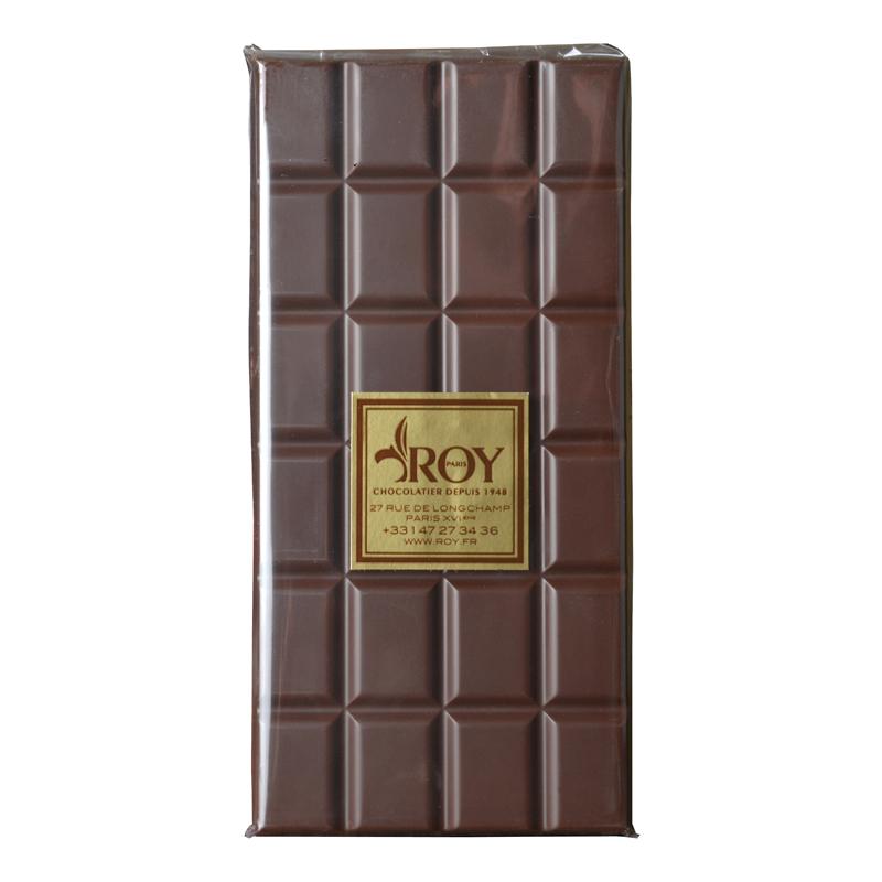 Tablette de chocolat noir sans sucre