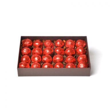 Cerises au kirsch – coffret de 24 griottes
