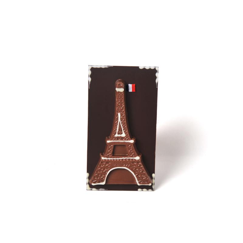 Tour Eiffel au chocolat noir - 70 g