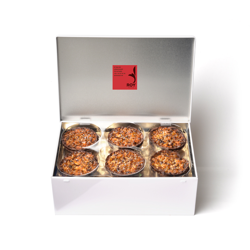 Florentins au chocolat – coffret de 36 pièces (300 g)