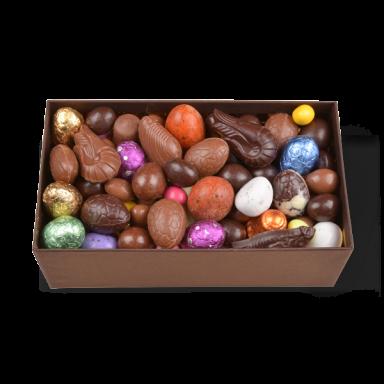 Oeufs de Pâques au chocolat – coffret de 550 g