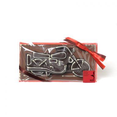 Plaque moto en chocolat – 150 g