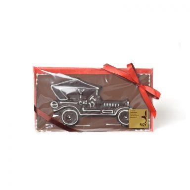 Plaque voiture en chocolat – 150 g