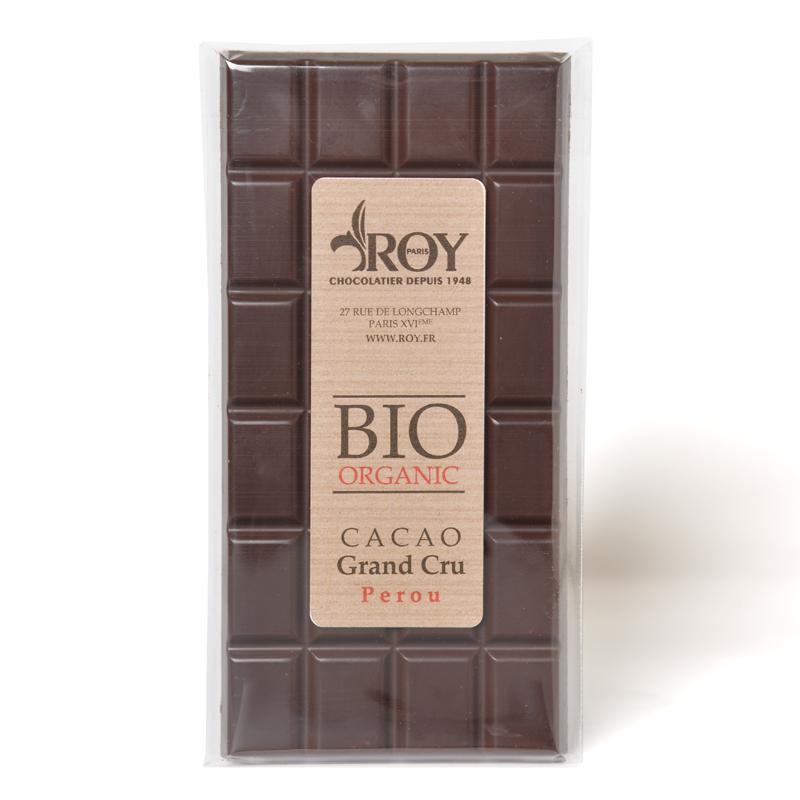 Tablette BIO chocolat noir grand cru Pérou
