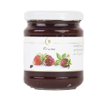 Confiture de fraise sans sucre ajouté fabriquée en Bretagne