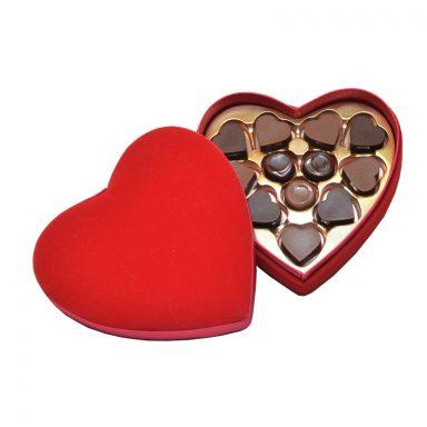 Cœur de Velours Saint-Valentin chocolat noir et au lait ROY chocolatier Paris 16 800px