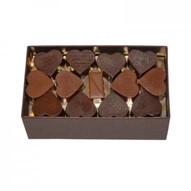 Coffret chocolats Saint Valentin 400g Roy chocolatier 800px